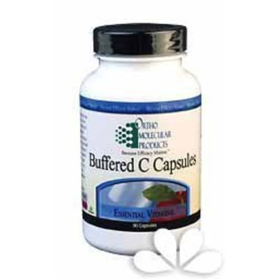 Ortho Molecular Product Buffered C Capsules -- 180 Capsules