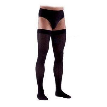 Sigvaris 230 Cotton Series 30-40 mmHg Men's Closed Toe Thigh High Sock Size: Large Long, Color: Crispa 66