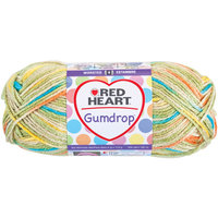 Coats & Clark Inc. Coats: Yarn Red Heart Gumdrop Yarn Lime