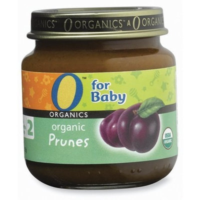 O Organics for Baby Organic Prunes, Stage 2, 4-Ounce Jars (Pack of 12)