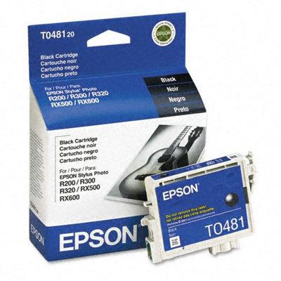 Epson T0481 Black Ink Cartridge, Epson T048120
