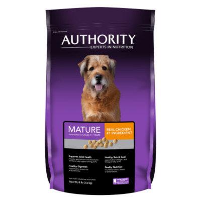AuthorityA Mature Dog Food