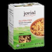Jovial Gluten Free Brown Rice Pasta Fusilli