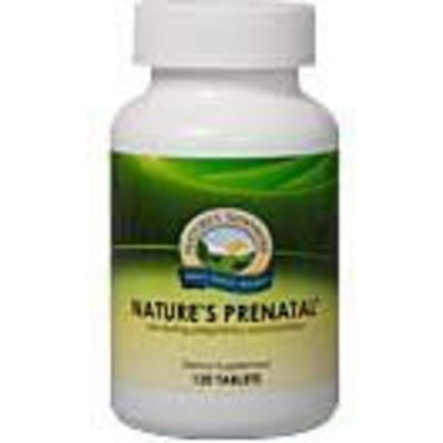 Nature's Sunshine Nature's Prenatal Essential Nutrients Needed for Energy and Metabolism (120 Tabs)