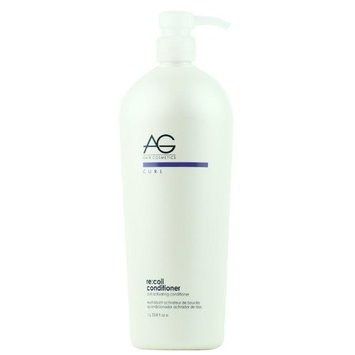 AG Hair Cosmetics Recoil Curl Activating Conditioner for Unisex, 33.8 Ounce