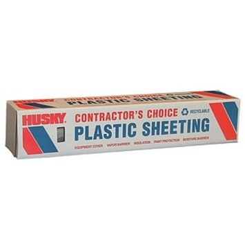Berry Plastics 8' X 100' 6 ML Tyco Polyethylene Clear Plastic Sheeting