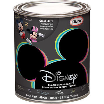 Disney Great Slate (Chalkboard) Black Interior Specialty Paint, 1-Quart