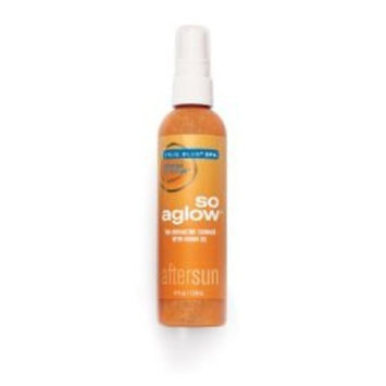 Bath & Body Works True Blue Spa So Aglow Bronze Bombshell Tan-Enhancing Shimmer with Monoi Oil