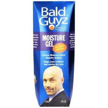 Moisture Gel for The Bald Head Men By Bald Guyz for Men, 4 Ounce