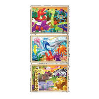 Melissa & Doug Melissa and Doug Deluxe 24-Piece Jigsaw Puzzle Bundle (3 Pack)