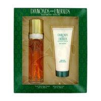Diamonds & Emeralds Perfume for Women, Gift Set - 3.3 oz EDT Spray + 3.3 oz Body Lotion From Elizabeth Taylor