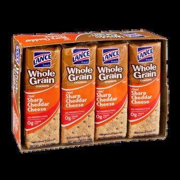 Lance Whole Grain Sharp Cheddar Cheese Cracker Packs - 8 CT