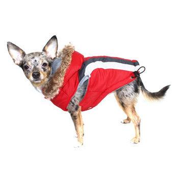 Hip Doggie Inc Hip Doggie Swiss Alpine Ski Vest - Red, M