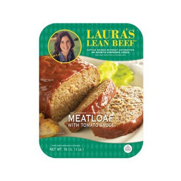Laura's Lean Beef Meatloaf with Tomato Sauce 16-oz.