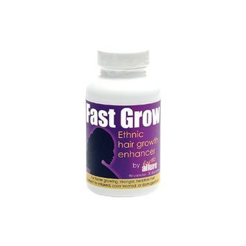 Exotic Allure Best Hair Growth Vitamin to Grow Hair Faster with Fast Grow Black Hair Growth Enhancer 90 Vegetarian Capsules 30 Day Supply