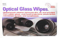 Generic Read Right Optical Glass Wipes Cleaning Pads - RR1207 (24 Pack) NEW