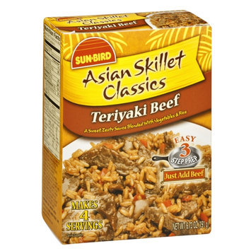 Sun-Bird Asian Skillet Classics Teriyaki Beef