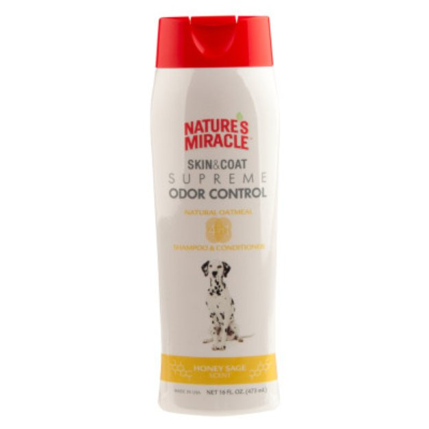 Nature's Miracle NATURE'S MIRACLETM Supreme Odor Control Honey Sage Scented Dog Shampoo & Conditioner