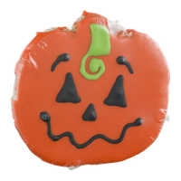 Decorated Halloween Cookie