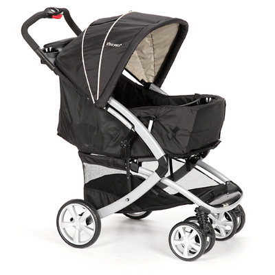 The First Years Burst Stroller, Black and Khaki