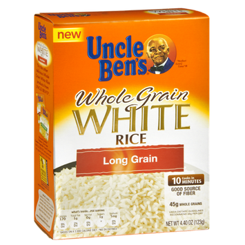Uncle Ben's Long Whole Grain White Rice