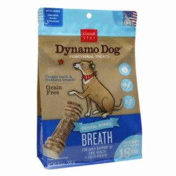 Cloud Star Dynamo Dog Functional Dental Bones, Breath, Itty Bitty, 10.8 oz