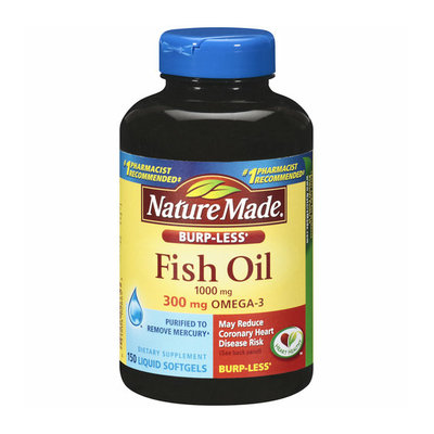 Nature Made Burp-Less Fish Oil Liquid Softgels