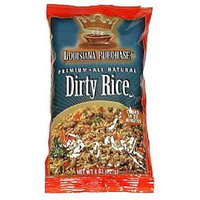 Louisiana Purchase Rice Mix Dirty Rice, 8-Ounce (Pack of 12)
