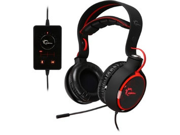 G.SKILL Ripjaws SR910 Real 7.1 Channel Gaming Headset Black