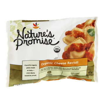 Nature's Promise Cheese Ravioli Organic