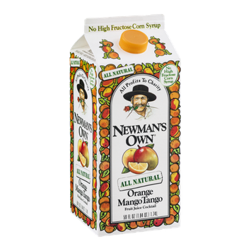 Newman's Own Orange Mango Tango Fruit Juice Cocktail