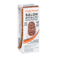 Sally Hansen Salon Effects Real Nail Polish Strips 460 Queen Of The Jungle - 16 CT