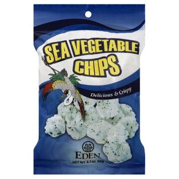Eden Foods Sea Veggie Chips, 2.1-Ounce (Pack of 20) ( Value Bulk Multi-pack)