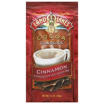 Land O Lakes Cocoa Classics Cinnamon & Chocolate Hot Cocoa Mix