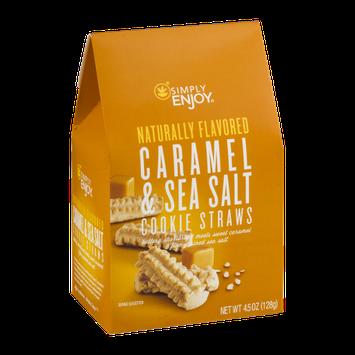 Simply Enjoy Caramel & Sea Salt Cookie Straws