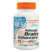 Doctor's Best Natural Brain Enhancers Featuring GPC & PS