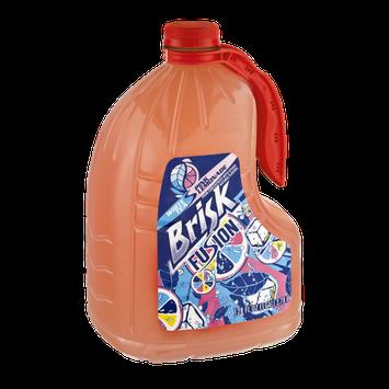 Brisk Fusion White Tea Pink Lemonade Flavor Juice