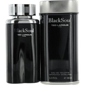 Ted Lapidus Black Soul for Men 3.3-ounce Eau de Toilette Spray