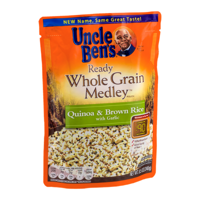 Uncle Ben's Ready Whole Grain Medley Quinoa & Brown Rice With Garlic