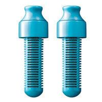 Bobble Replacement Filter, Blue, 2 ea