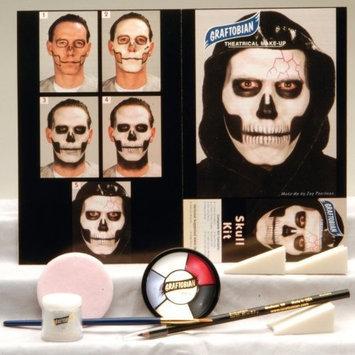 Graftobian Unisex Adult Skull Makeup Kit