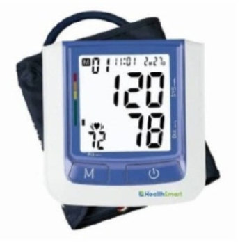 Mabis HealthSmart Select Automatic Arm Digital Blood Pressure Monitor - Large without AC Adapter
