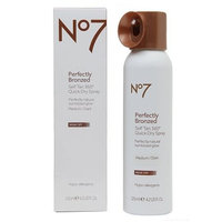 No7 Perfectly Bronzed Self Tan Quick Dry Spray