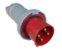 Thomas & Betts ABB Russelstoll ABB4100P7W IEC Plug 100A 3P 4 Wire 480V 3 Phase Pin & Sleeve