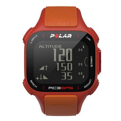 Polar Cic, Inc. Polar RC3 GPS Sports Watch Red/Orange