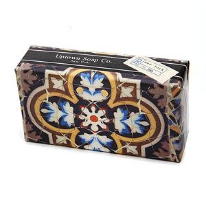 Uptown Soap Co. Mosaics Single Soap Verbena Verde