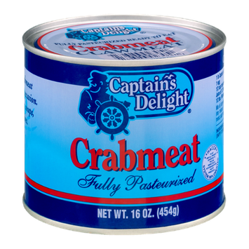 Captain's Delight Fully Pasteurized Ready to Eat Indian Clawmeat Crabmeat