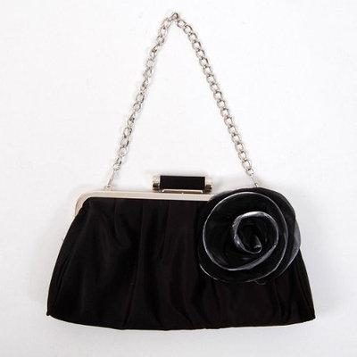 Shanghai Chang Funeral Shoulder Clutch Bag Handbag Tote Black