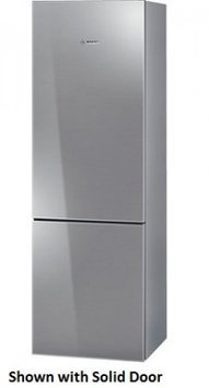 Bosch 800 Series 24 Stainless Steel Counter Depth Bottom Freezer Refrigerator