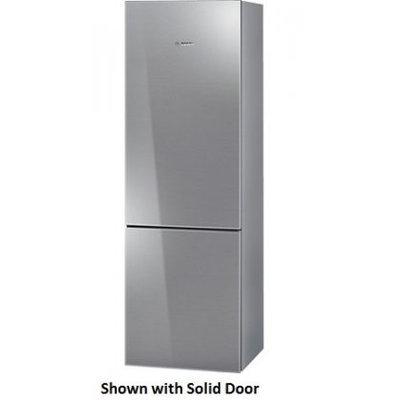 Bosch 800 Series 24 Stainless Steel Counter Depth Bottom Freezer Refrigerator
